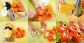 Culinária da salada de tomate recheado — Fotografia Stock