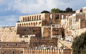 Barrakka Gardens in Valletta — Stock Photo