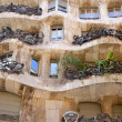 Close up of Casa Milai. Barcelona, Spain. — Stock Photo