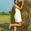 Country girl — Stock Photo #5722216