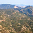 Top view from Montserrat mountain — Stock Photo