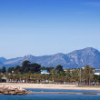 Seaside in Cambrils - Stock Photo