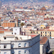 Top view of Barcelona — Stock Photo