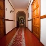 Corridor in hotel — Stock Photo