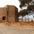 Abandoned church in  Tossa de Mar — Stock fotografie
