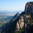 Stock Photo: View from Montserrat mountain