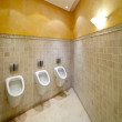 Urinals in toilet - Foto Stock