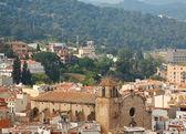 Top view of Alpen town. Tossa de Mar, Spain — Stock Photo