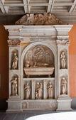 Detail of Santa Maria de Montserrat — Stock Photo