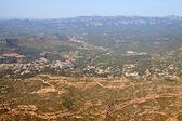 View from Montserrat mountain — Stock Photo