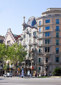 Casa batllo gaudi tarafından. barcelona — Stok fotoğraf