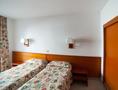 Interior of bedroom — Stock Photo