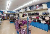 Interieur van kleding winkel — Stockfoto