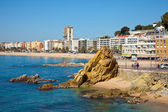 Lloret de Mar. Costa Brava, Spain — Stock Photo