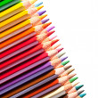 Many pencils with copyspase — Stock Photo