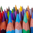 Pencils over white background — Stock Photo