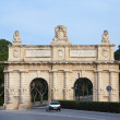 Floriana gate into Valett — Stock Photo