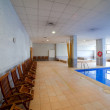 Spa hotel with  swimming pool — Foto de Stock