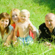 Portrait of happy family — Stock Photo #6044661