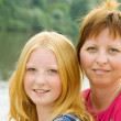Mother with teenager daughter — Stock Photo