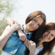 Two happy women — Stock Photo #6044926