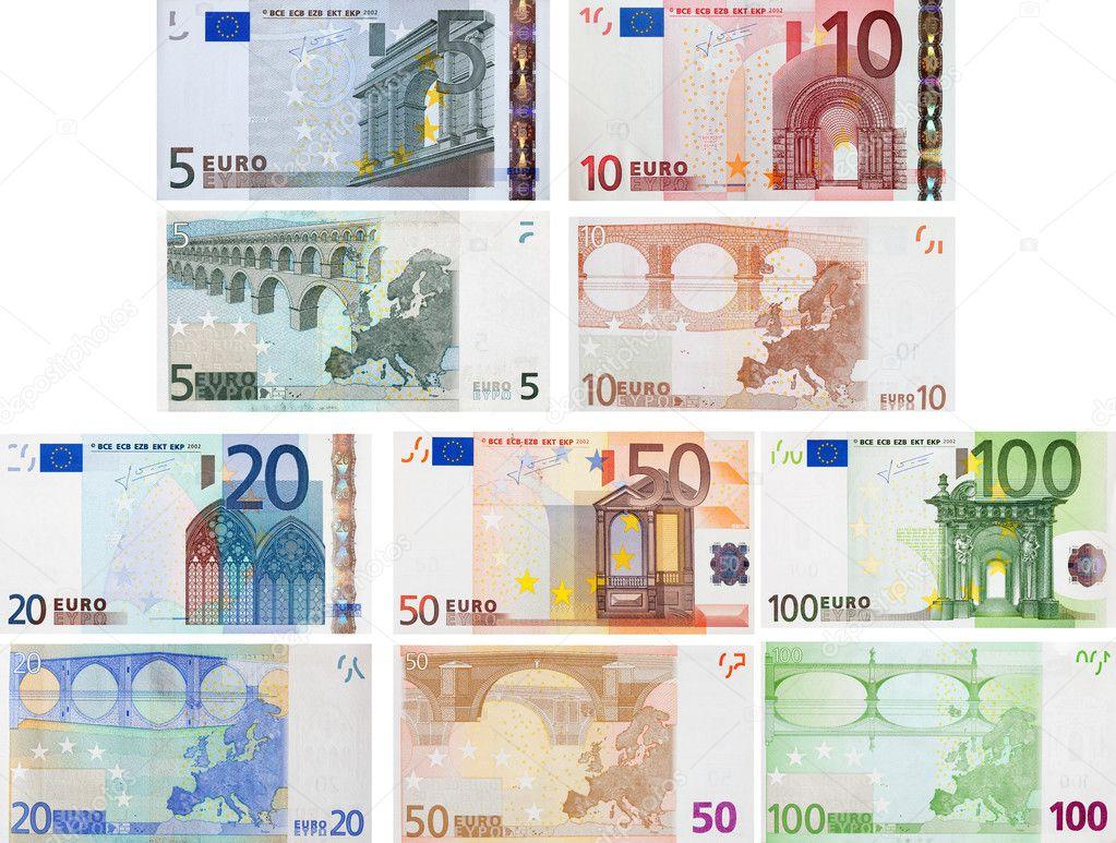 Euro — Stock ... Euro Bill