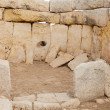 Hagar Qim neolithic temples. Malta - Stock Photo