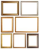 Set van 7 afbeeldingsframes. — Stockfoto