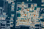 Printed circuit as background — Stock Photo