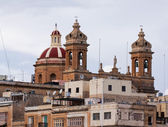 St. Lawrennce Cathedral at Vittoriosa — Stock Photo