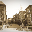 Stock Photo: Wild west town