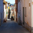 Foto de Stock  : Street in old mediterranetown