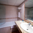 Interior of bathroom - Stockfoto