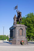 Monument of Vladimir prince — Stock Photo