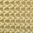 Yellow texture of foam rubber macro — Stock Photo