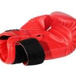 Постер, плакат: Red boxing gloves