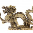 Figurine of a dragon, souvenir — Stock Photo