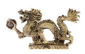 Figurine of a dragon, souvenir — Stock Photo