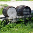 Stock Photo: Wooden cask