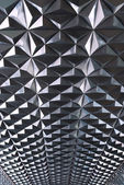 Maetal and geometry texture — Stock Photo
