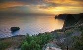 Mar y montaña. — Foto de Stock