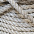 Stock Photo: Synthetic rope background