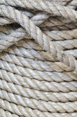 Synthetic rope background — Stock Photo