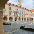 Stock Photo: Vilnius university Big courtyard