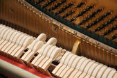 Piano mechanism — Stock Photo