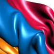 Flag of Armenia - Stock Photo