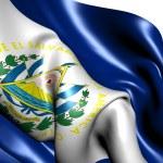 Flag of El Salvador — Stock Photo #5527868