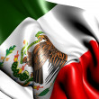 Flag of Mexico — Stock Photo #5528114