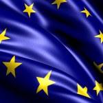 Flag of EU — Stock Photo #5620755