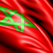 Flag of Morocco — Stock Photo
